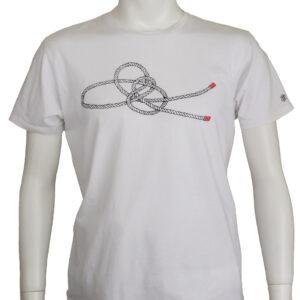 もやい結びデザインのTシャツ