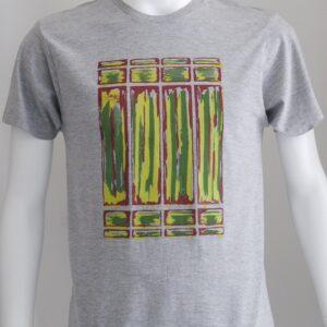 """""""Non Title 001"""" 錆のような抽象デザインのTシャツ"""