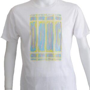"""""""Non Title 002"""" 明るい抽象グラフィックデザインのTシャツ"""