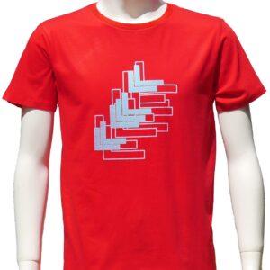 ピアノのために2 Red 赤地 半袖