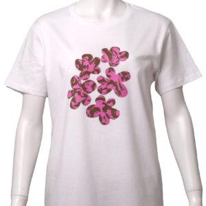 floral – 白地 ピンク